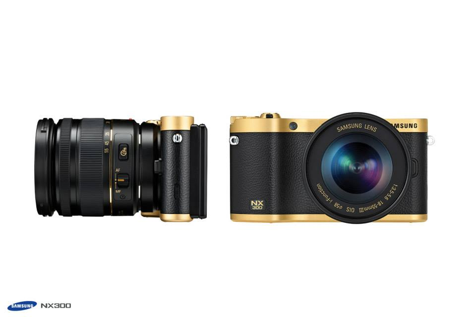 Samsung gold special edition NX300 camera kit 3