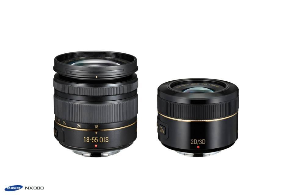 Samsung gold special edition NX300 camera kit 4