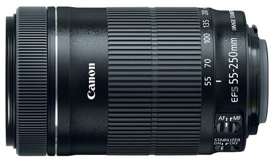 spesifikasi harga lensa canon ef s 55 250mm f 4 5 6 is stm. Black Bedroom Furniture Sets. Home Design Ideas