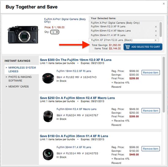Fujifilm-Instant-savings
