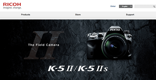 New-Ricoh-Imaging-Website