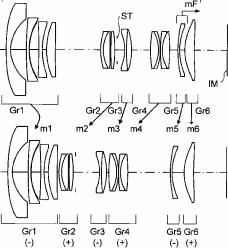 Olympus 15mm f:2 pancake lens patent