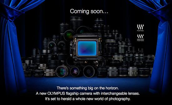 Olympus E-M1 camera teaser 2
