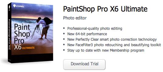 corel paintshop pro x6 released 64 bit photo rumors. Black Bedroom Furniture Sets. Home Design Ideas