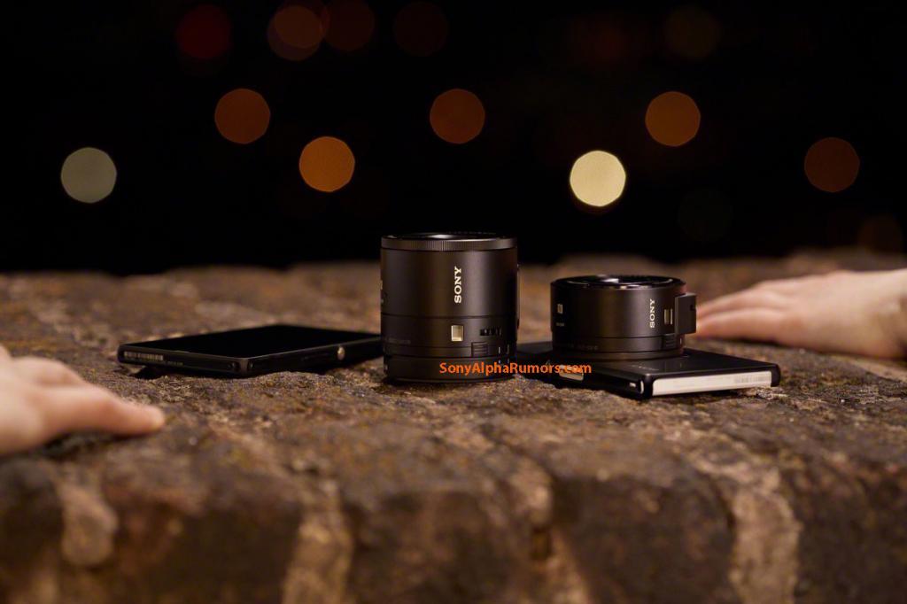 Sony DSC-QX100_DSC-QX10_lens camera modules for smart phones