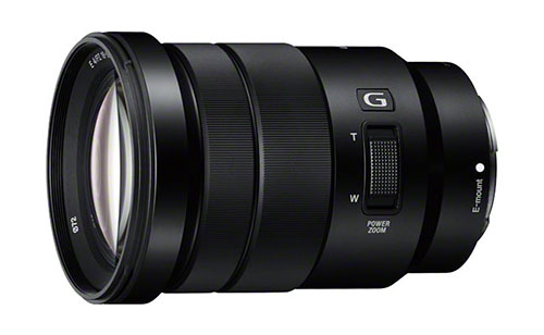Sony E18-105mm F4G OSS lens