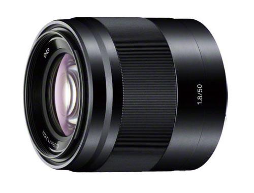 Sony E50mm F1.8 OSS lens