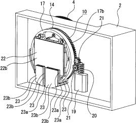 Sony rotating sensor patent