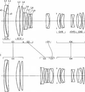 Tokina 70-200mm full frame lens patent
