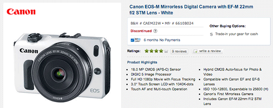 Canon-EOS-M-discontinued