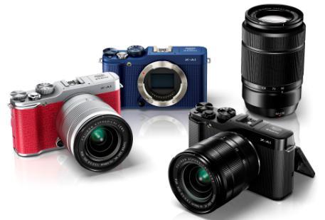Fuji X-A1 camera