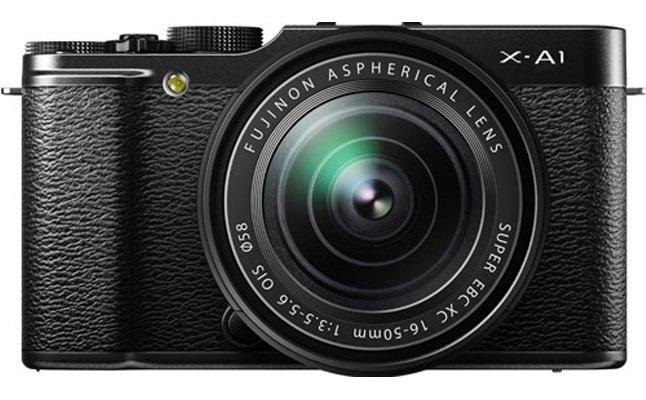 Fuji X-A1 mirrorless camera