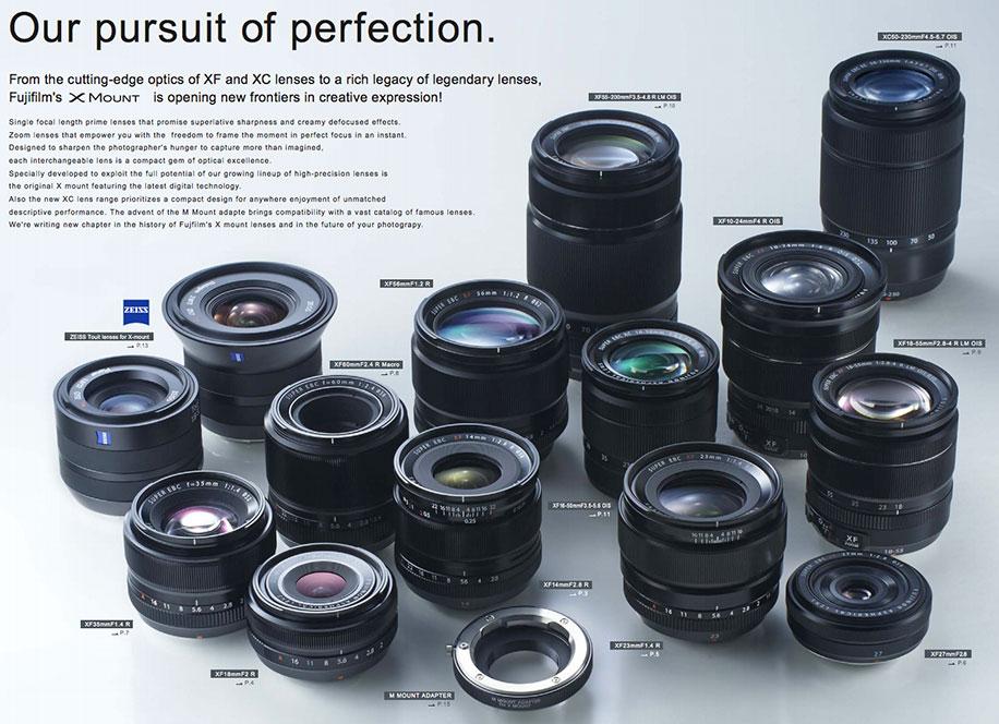 Fujifilm-XF-lenses