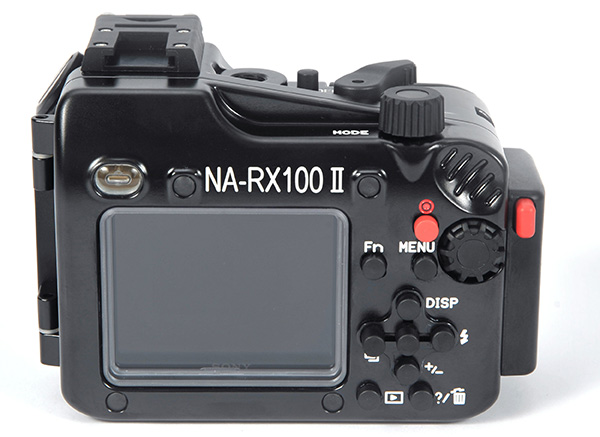 Nauticam underwater housing for Sony RX100 II back