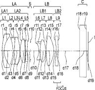 Olympus 15mm F2 lens patent