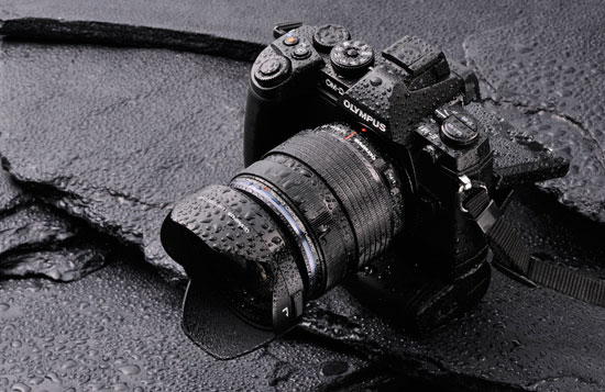Olympus-E-M1-water-proof-camera