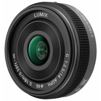 Panasonic Lumix 14mm f:2.5 G Aspherical Lens for Micro Four Thirds