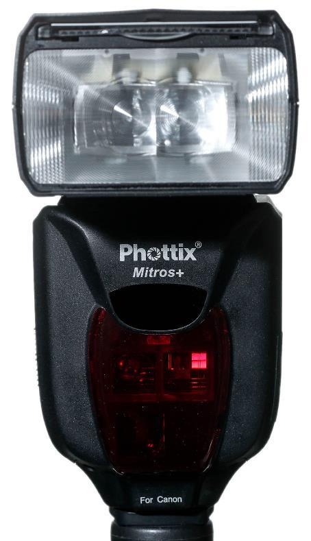 Phottix Mitros+ TTL transceiver flash