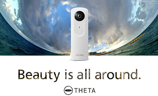 Ricoh-Theta-360-camera