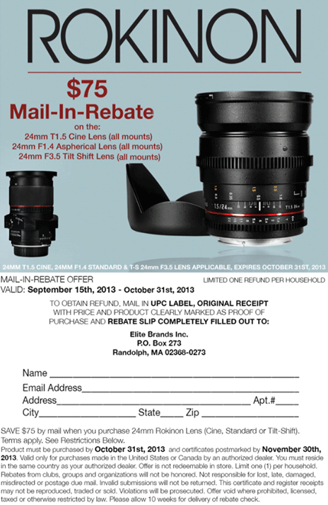 Rokinon-lens-mail-in-rebate
