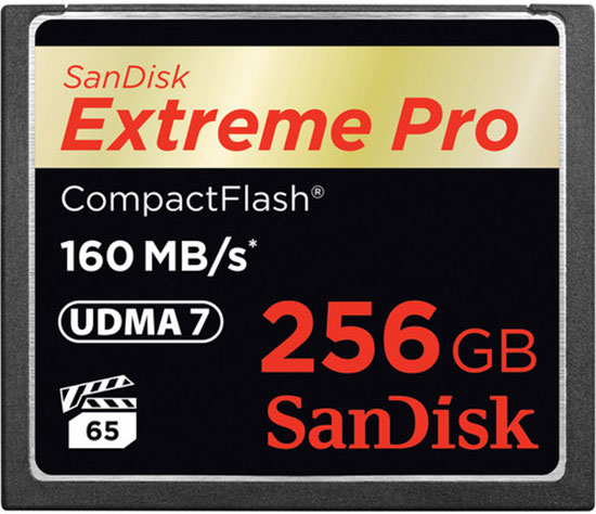 SanDisk-256GB-EXTREME-PRO-CF-CARD-160MBS