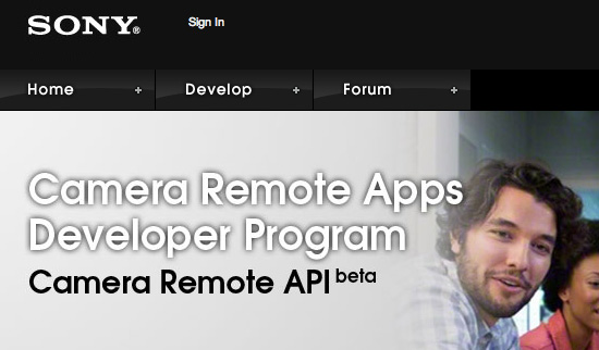 Sony-Camera-Remote-API