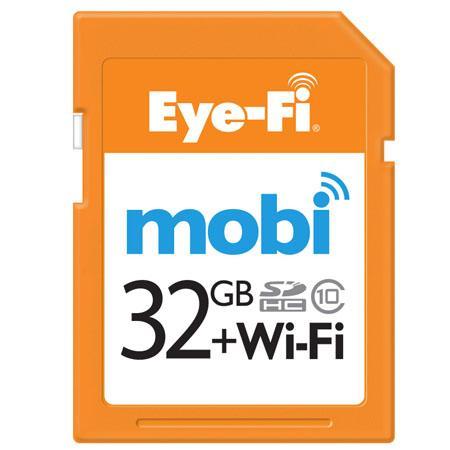 Eye-Fi 32GB Mobi wireless memory card