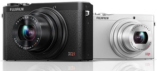 Fuji-X-Q1-camera-silver-black