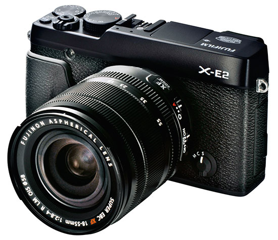 Fujifilm-X-E2-camera-black