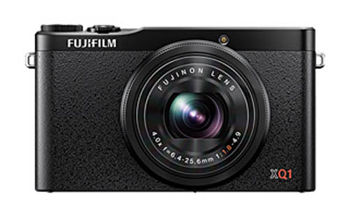 Fujifilm XQ1 camera black