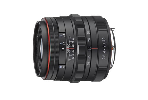 HD PENTAX-DA 20-40mm F2.8-4 ED Limited DC WR lens
