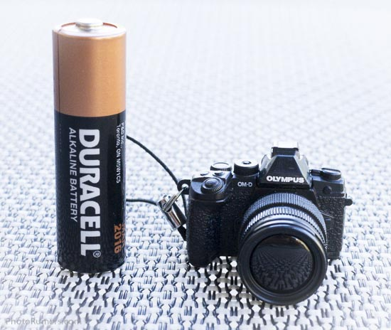 Olympus mini-OMD compact camera