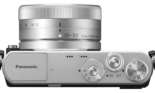 Panasonic GM1 camera top