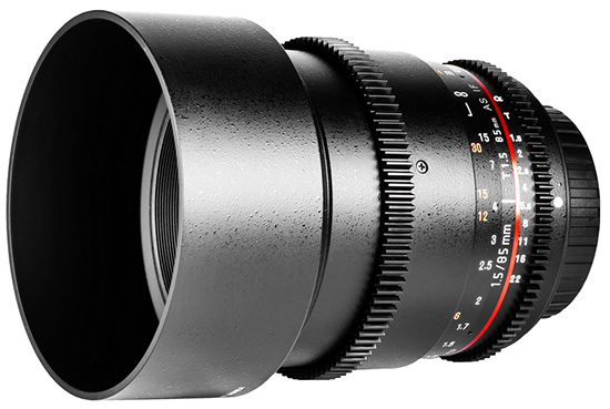 samyang full frame sony e mount lenses