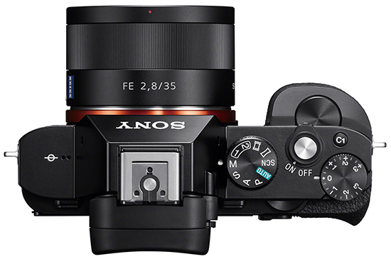 Sony-a7-camera-top-view