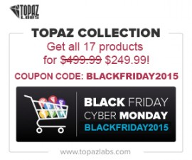 Black Friday deal Topaz Labs Complete Collection sale