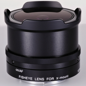 Fisheye lens for Fujifilm X mount