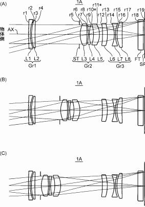 Konica Minolta 45mm f:2.8 macro lens patent