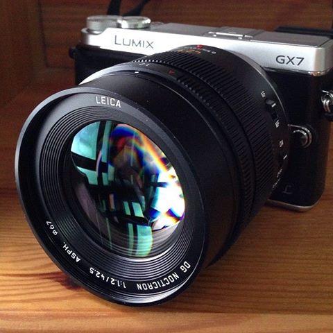 Leica Panasonic DG Nocticron 42,5mm f:1.2 ASPH MFT lens