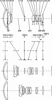 Panasonic 12-100mm f:4-5.6 lens patent