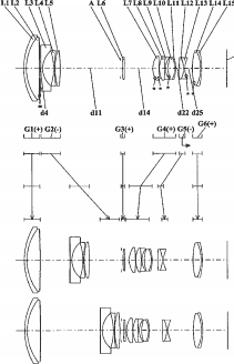 Panasonic 12-120mm f:4-5.6 lens patent