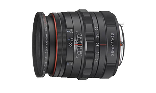 Pentax DA 20-40mm f:2.8-4 ED Limited DC WR lens