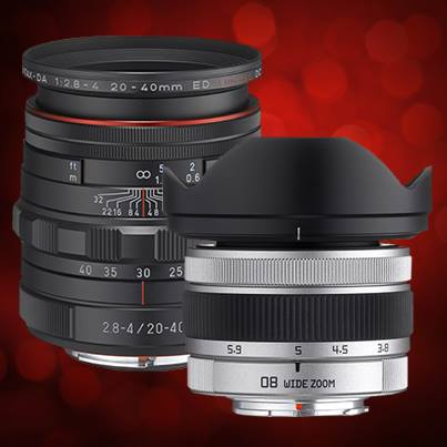 Two new Pentax lenses announced