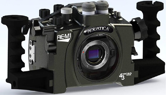 Aquatica-AE-M1-underwater-housing-for-Olympus-OM-D-E-M1-camera