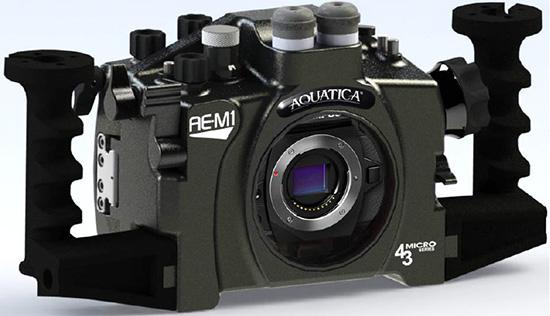 Aquatica-AE-M1-underwater-housing-for-Olympus-OM-D-E-M1-camera
