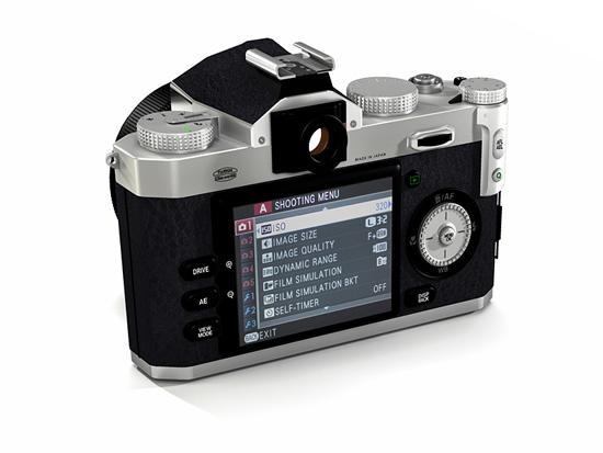 Fuji X-W1 camera back