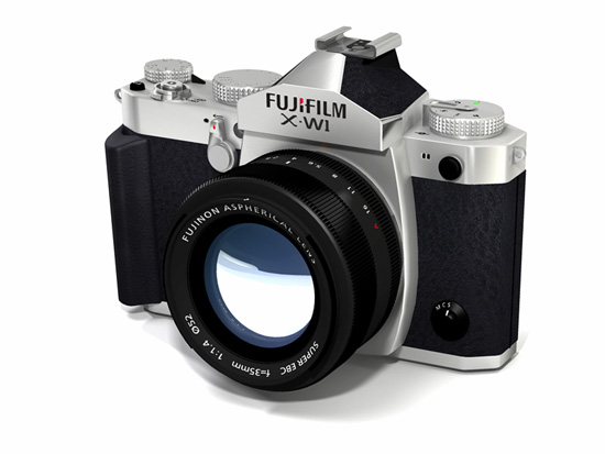 Fuji X-W1 camera