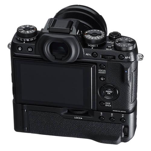 Fujifilm X-T1 camera back