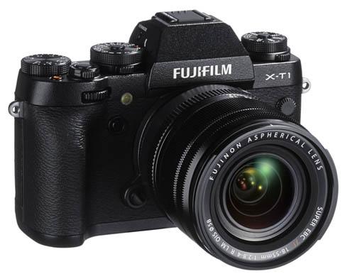 Fujifilm X-T1 camera front