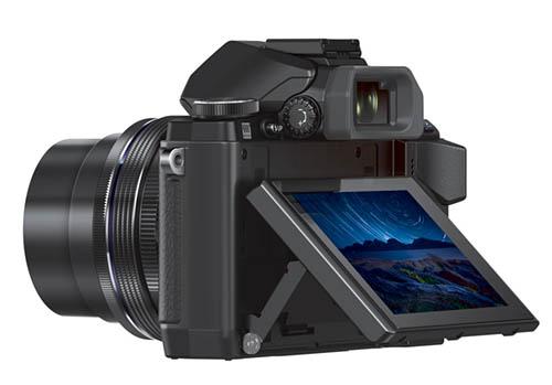 Olympus OMD E-M10 camera back